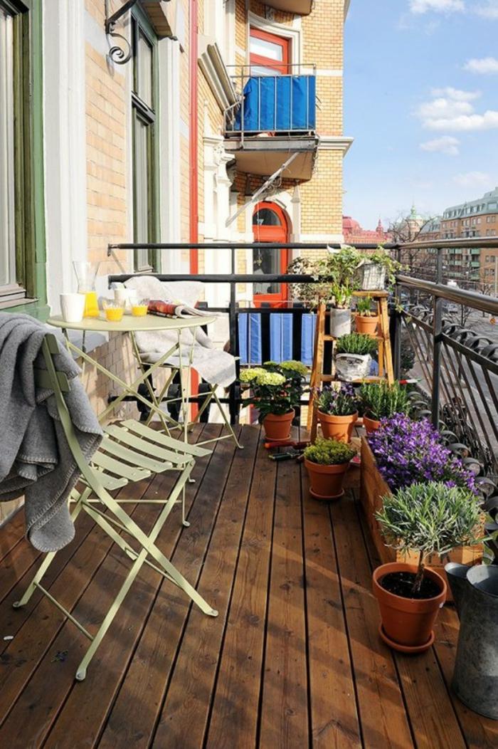 Kleiner Balkon Ideen selber machen diy ideen upcycling ideen garten ideen