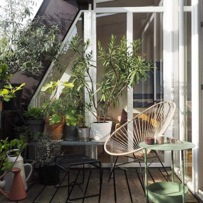 Kleiner Balkon Ideen selber machen diy ideen upcycling ideen toll