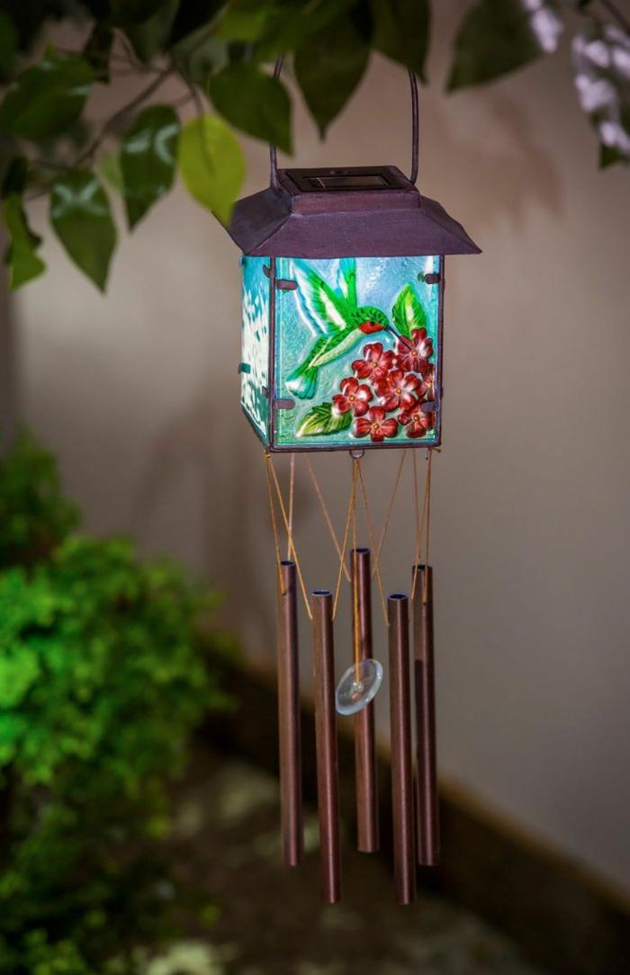 Kleiner Balkon Ideen selber machen diy ideen upcycling ideen windspiel