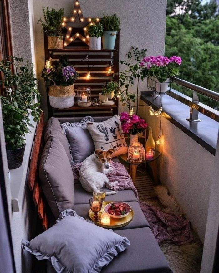 Kleiner Balkon Ideen selber machen diy ideen upcycling ideen