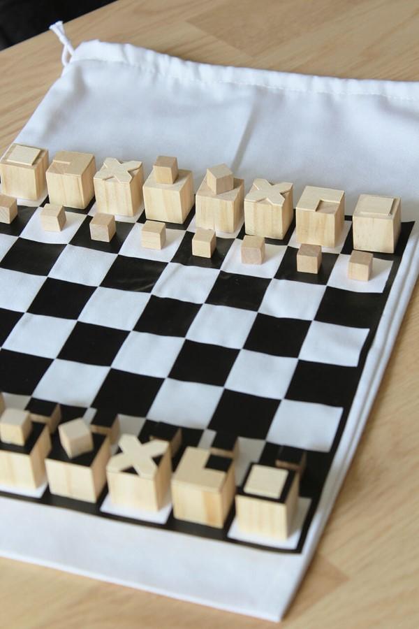 Kreative und interaktive Bastelideen gegen Langeweile für Groß und Klein schach diy brettspiel spiel
