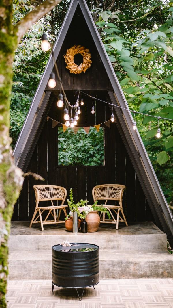 Mit der passenden Gartengestaltung eine Wohlfühl-Oase schaffen kreative einrichtung dach