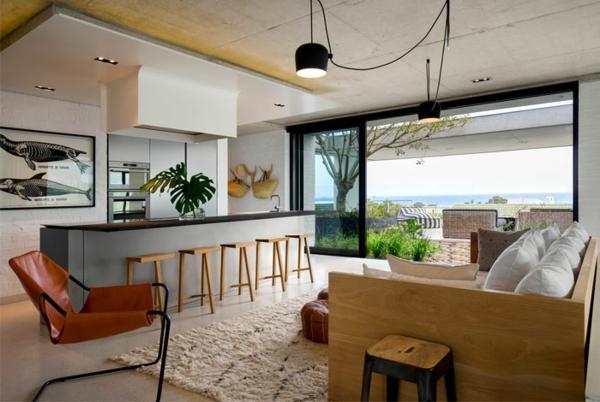 Offene Küche Vor- und Nachteile Kücheninsel Wohnraum Designideen