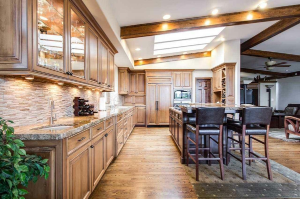 Offene Küche Vor- und Nachteile Wohnküche planen offerner Wohnraum
