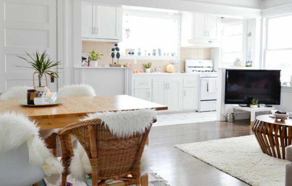 Offene Küche Vor- und Nachteile Wohnküche planen