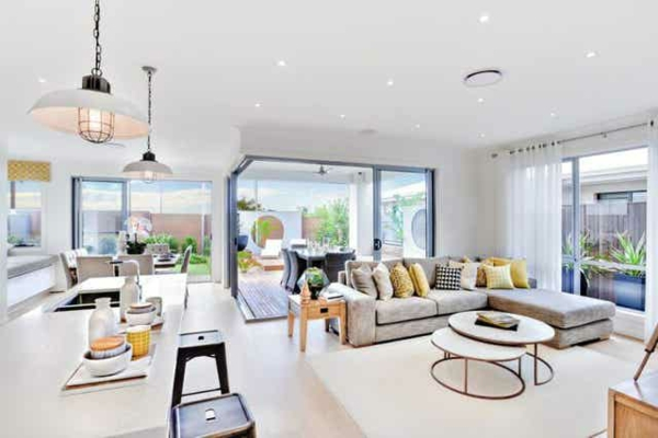 Offene Küche Vor- und Nachteile Wohnraum Wohnküche Ideen