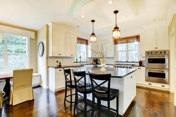 Offene Küche Vor- und Nachteile Wohnraum Wohnküche