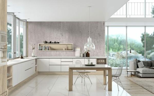 Offene Küche Vor- und Nachteile zahlreiche Wohnküche Ideen