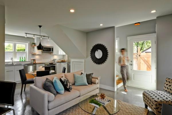 Offene Küche Vorteile Wohnbereich Wohnküche Ideen