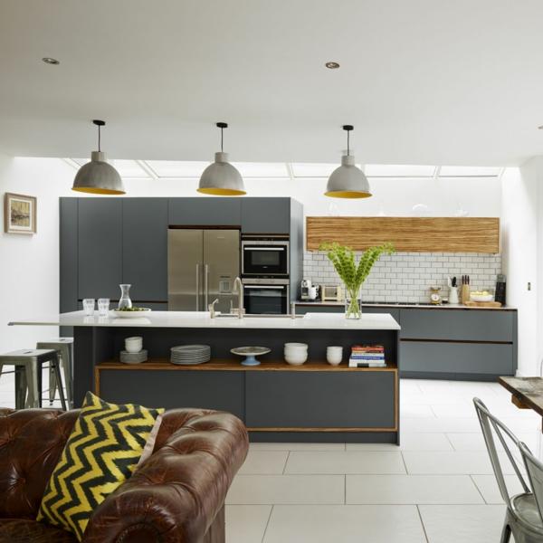 Offene Küche Vorteile Wohnraum planen Wohnküche Ideen