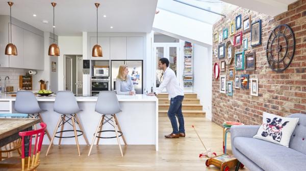 Offene Küche Vorteile inspirierende Wohnküche Ideen