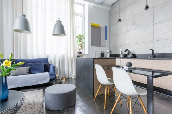 Offene Küche Wohnküche Ideen Vorteile