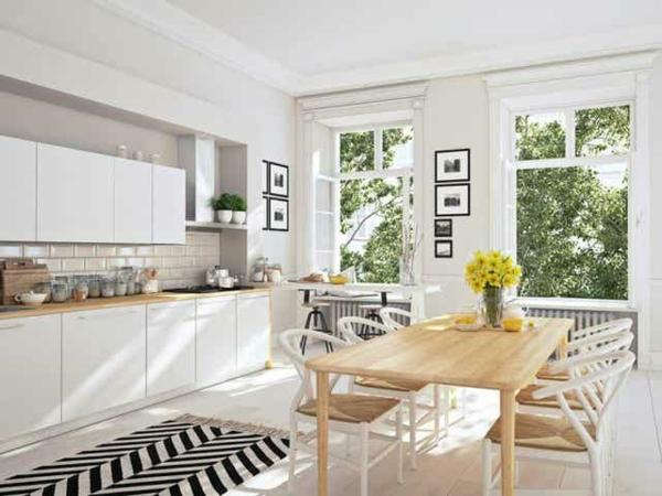 Offene Küche Wohnraum offen gestalten