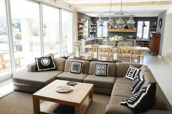 Offene Küche planen Vor- und Nachteile 40 interessante Wohnküche Ideen