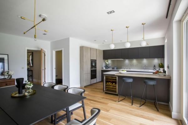 Offene Küche planen Vor- und Nachteile Wohnküche Ideen