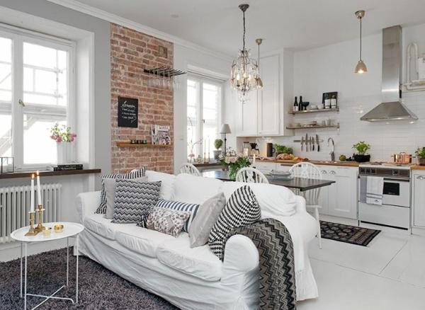 Offene Küche planen Vor- und Nachteile zahlreiche Wohnküche Ideen