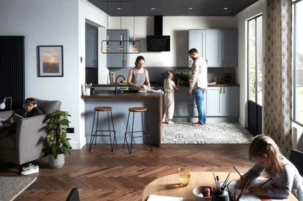 Offene Küche sowie 40 interessante Wohnküche Ideen