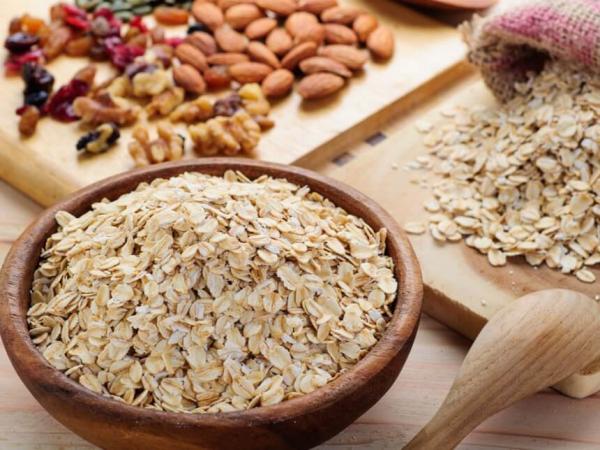 Sattmacher gesund gegen Heißhunger Haferflocken gesundes Frühstück Energieschub guter Start in den Tag