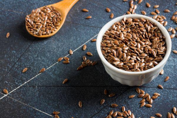 Sattmacher gesund gegen Heißhunger Leinsamen gute Energiequelle nicht nur für Vegetarier und Vegane