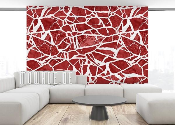 Schöne und moderne 3D Vliestapeten für jedes Interieur und Vorliebe tapete rot weiß elegantes mosaik vlies