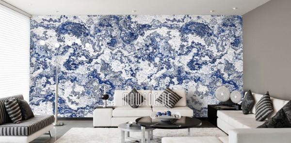 Schöne und moderne 3D Vliestapeten für jedes Interieur und Vorliebe wandbelag struktur tapete erdstein weiss blau