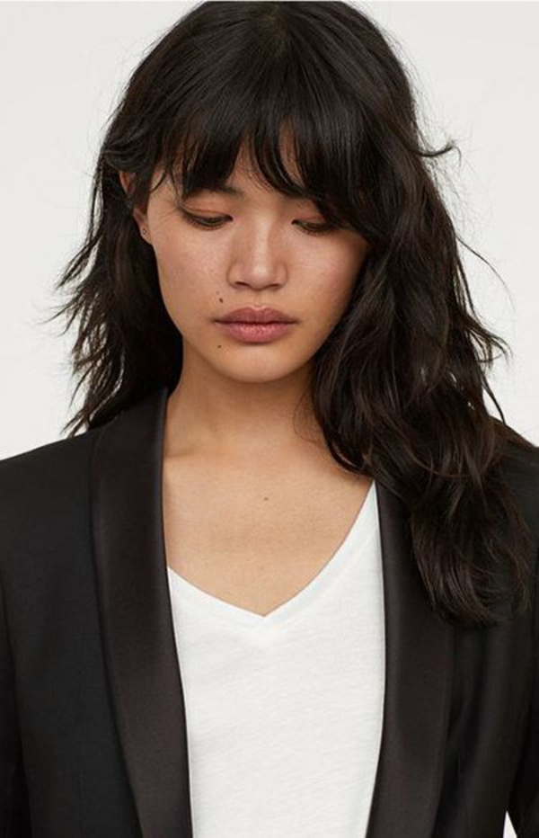 Shag Cut Shag Frisur Trendfrisuren 2021 Black-Hair-Shag-Haircut