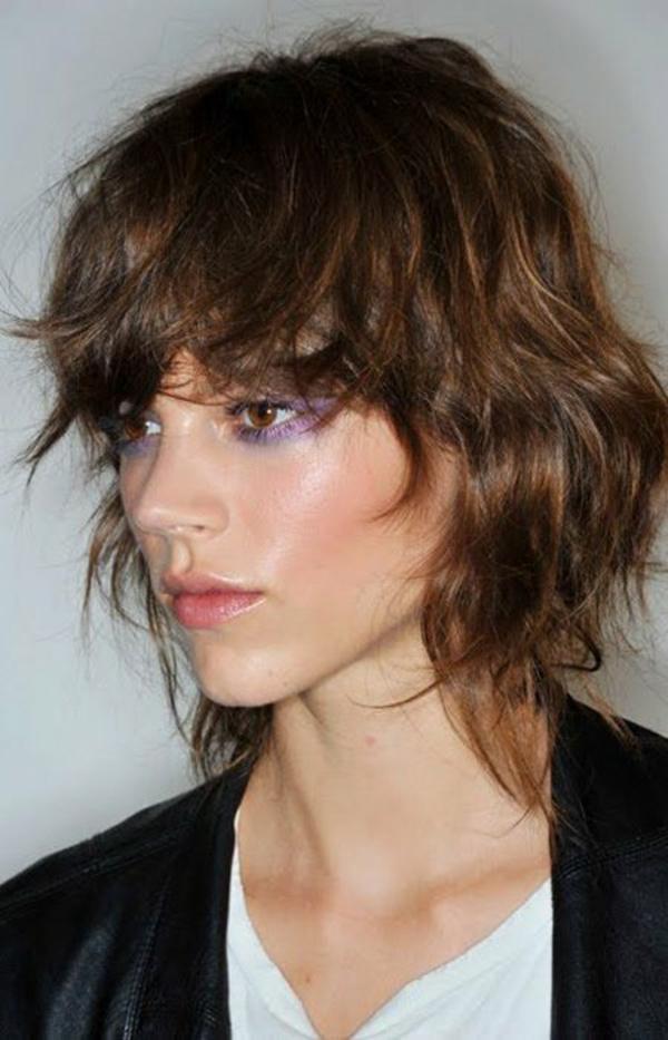 Shag Cut Shag Frisur Trendfrisuren 2021 Brown-Shag-Haircut