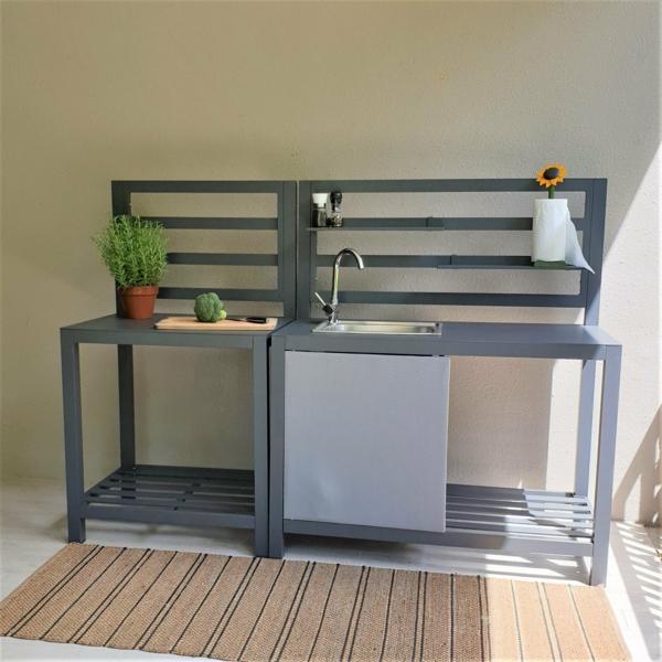 Spüle im Freien 50 Gartenspüle Ideen Außenspüle