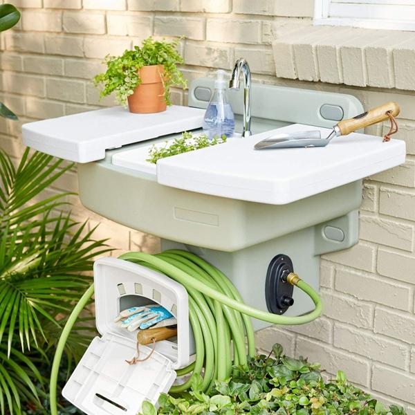 Spüle im Freien 50 Gartenspüle Ideen