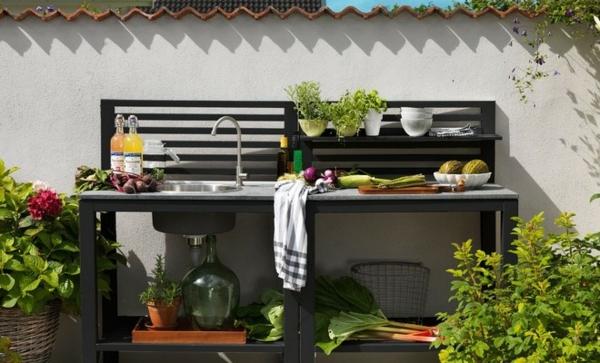 Spüle im Freien Vorteile 50 Gartenspüle Ideen