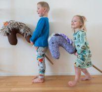 Steckenpferd basteln: Dieses Kinderspielzeug können Sie im Handumdrehen selber machen
