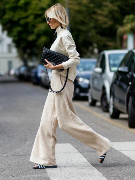 businesstaugliches sommer outfit adiletten