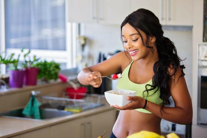 clean eating rezepte beispiel teller abnehmen