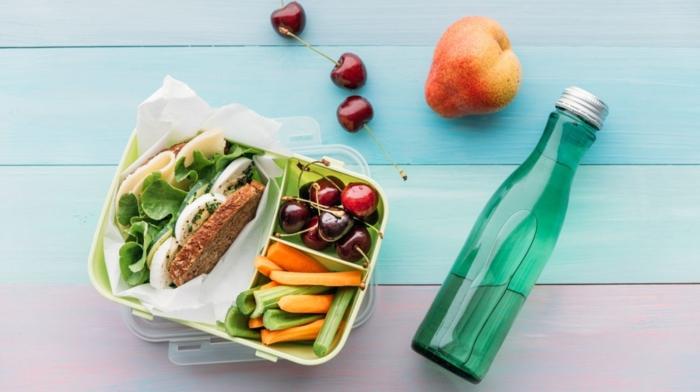 clean eating rezepte beispiel teller grundprizip