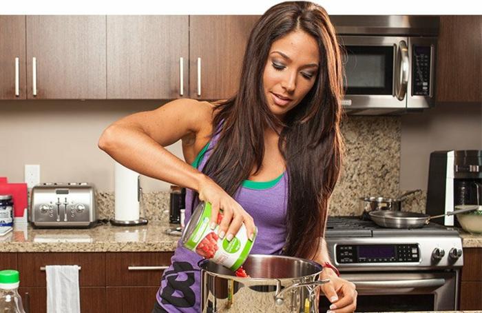 clean eating rezepte beispiel teller konservierungsstoffe vermeiden