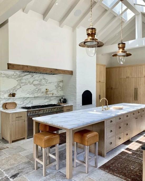 küche ohne hängeschränke gestalten