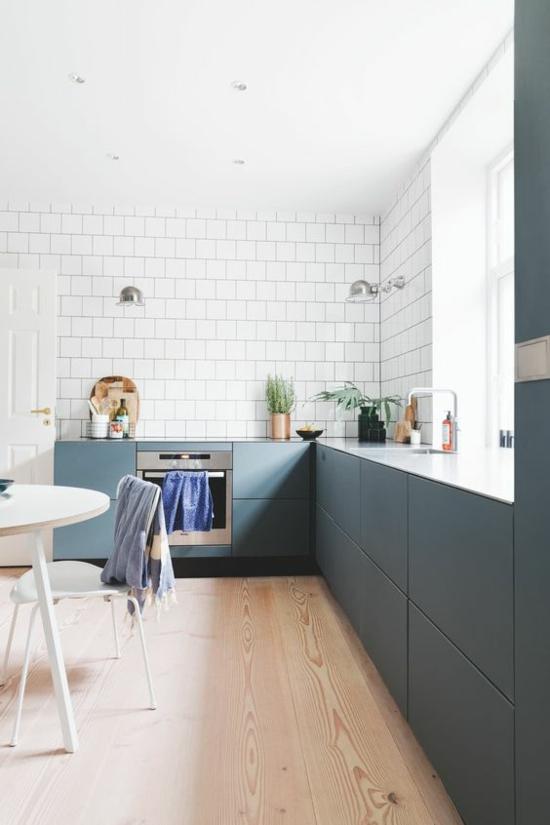 metrofliesen küche ohne hängeschränke