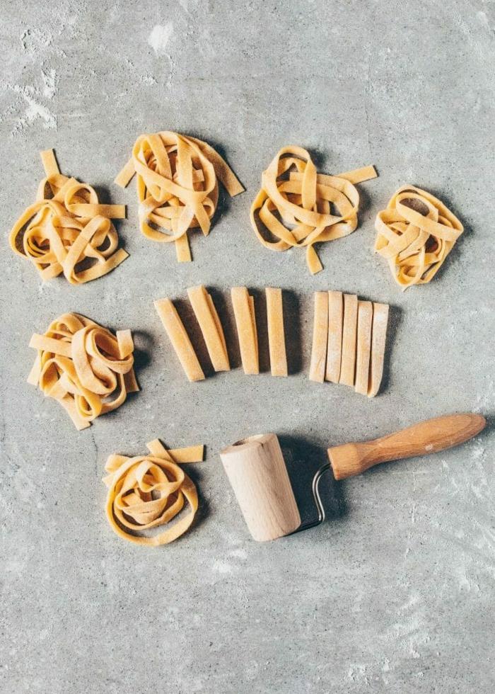 pasta selber machen flach