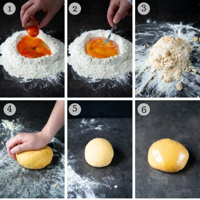pasta selber machen ohne maschine
