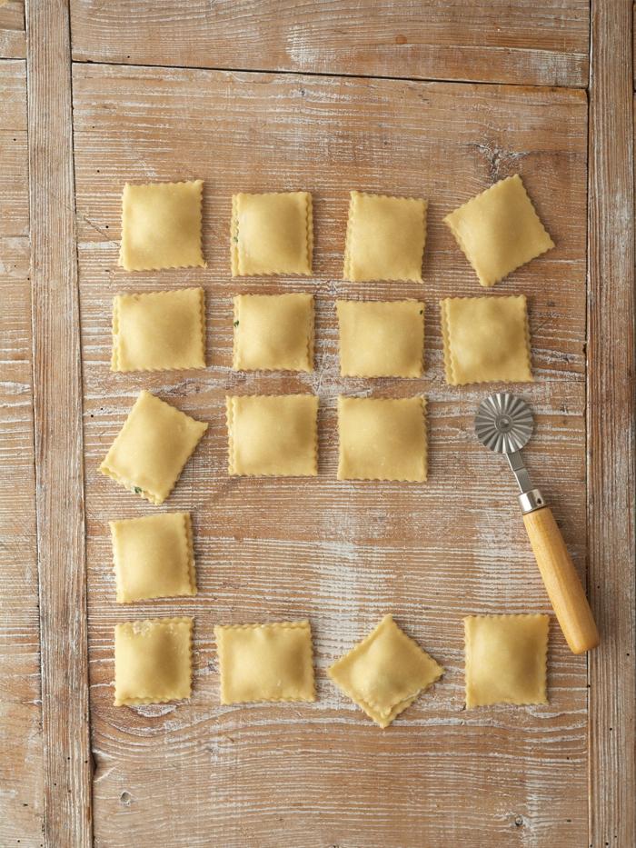 pasta selber machen'mit füllung maultaschen feinschmecker