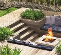 Versunkener Sitzbereich im Freien – hier tauchen Sie richtig in die Natur ein