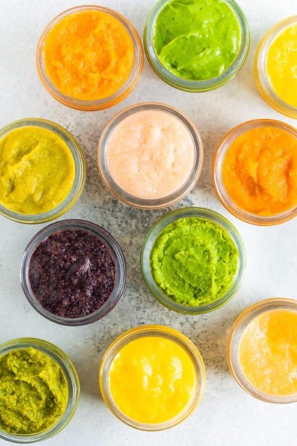 Babybrei Rezepte und Tipps für eine gesunde und schmackhafte Beikost baby essen kombinationen