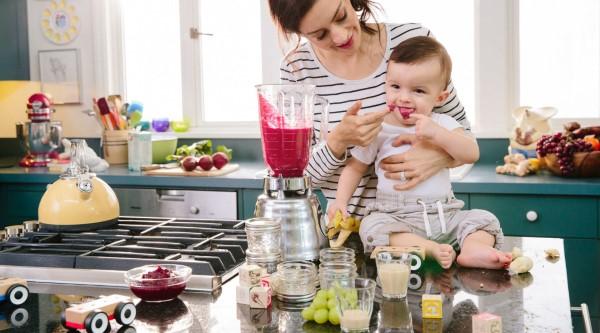 Babybrei Rezepte und Tipps für eine gesunde und schmackhafte Beikost baby küche zu hause