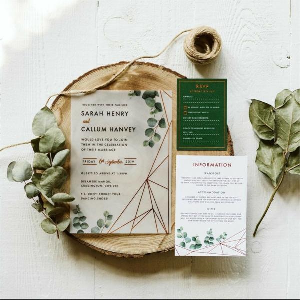 Design und Ideen für Einladungskarten Hochzeit Text Richtlinien