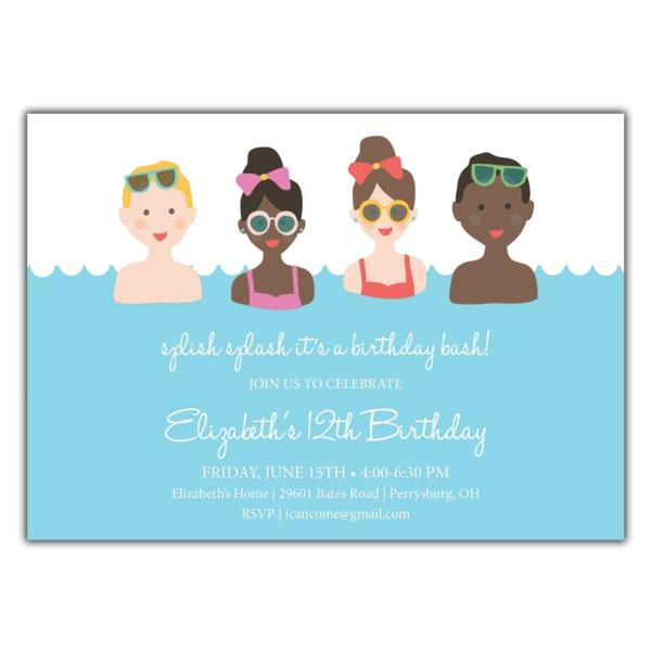 Einladung Ideen Text Kindergeburtstag feiern Einladungskarten gestalten