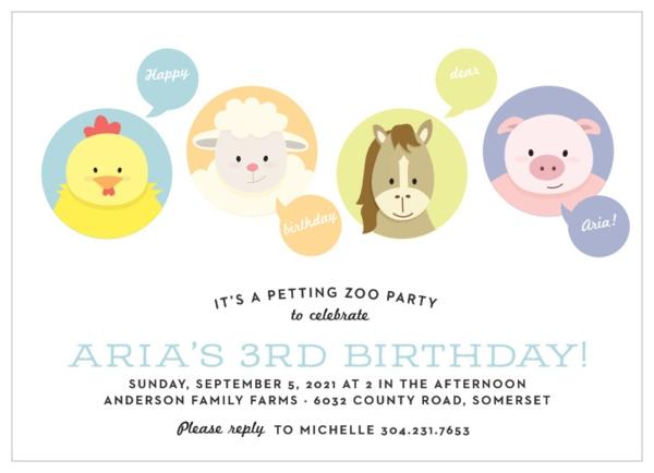 Einladung Wortlaut Kindergeburtstag feiern Einladungskarten thematisch gestalten