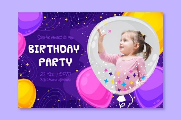 Einladung Wortlaut schreiben Kindergeburtstag
