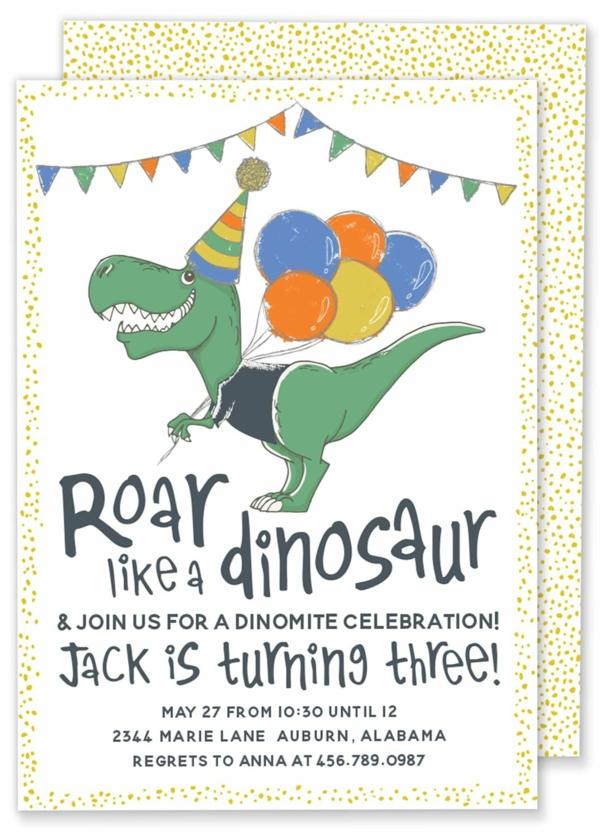 Einladung schreiben Wortlaut Kindergeburtstag feiern Einladungskarten gestalten