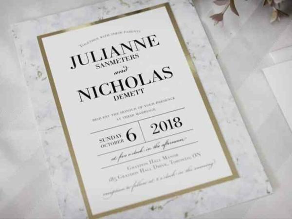 Einladungskarten Hochzeit Ideen für Text und Design