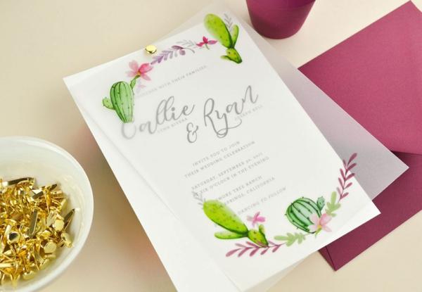 Einladungskarten für Hochzeit Hochzeit planen